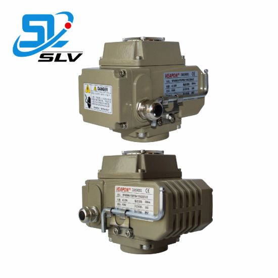 Remote Control Valves Electronic Electric Motorised Motorized 90 Angle  Stroke Actuator