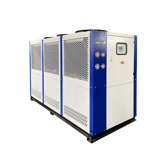 30HP Air Cooled Water Cased Industrial Chiller for Dairy Factory