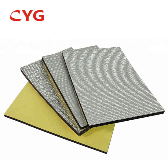 Heat Insulation Aluminum Foil Coated Cross Linked Polyethylene Foam