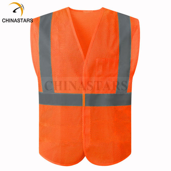 American Standard Reflective Safety Vest Road Police Safety Clothing pictures & photos