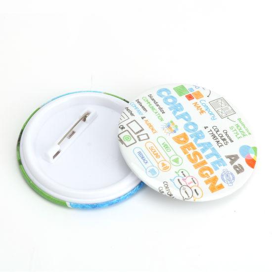 Vograce Best Sold Button Badge Holder Metal Pin Name Badge Making Machine
