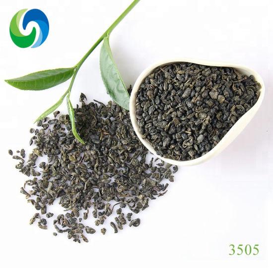 Free Sample Paper Box Packaging Organic Chinese Green Tea 3505