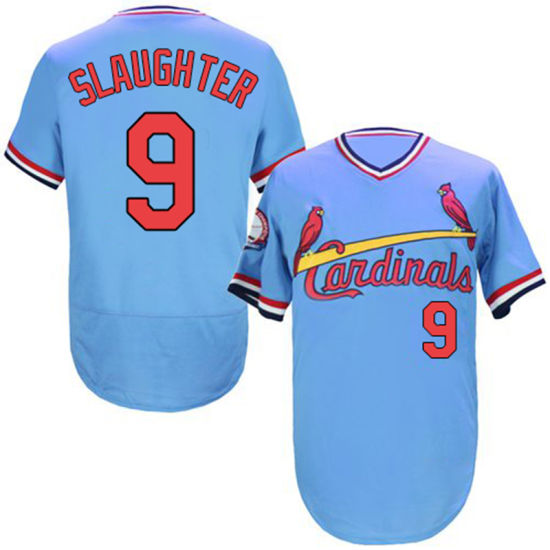 finest selection 21bff de8fe St. Louis Cardinals Yadier Molina Enos Slaughter Throwback Baseball Jersey