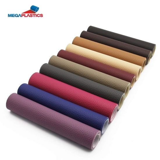 Artificial Leather For Sofa Furniture Microfiber Leather Cloth Embossing Pvc Synthetic Leather For Sofa Upholstery Leather Cloth Fabrics Car Seats And