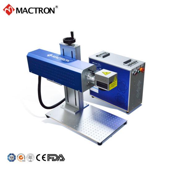 20W CO2 Metal RF Tube Laser Marking Machine for Paper Card Engraving