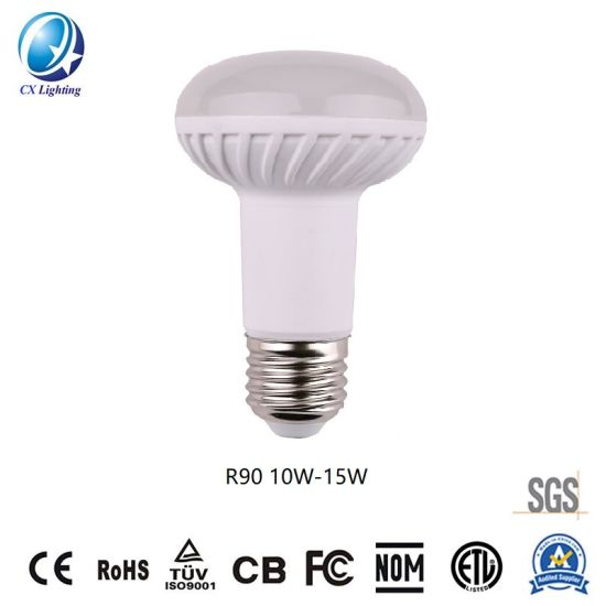 R90 Lamp LED Lights Screw Surface 10W/15W 900lm/1350lm Ce RoHS
