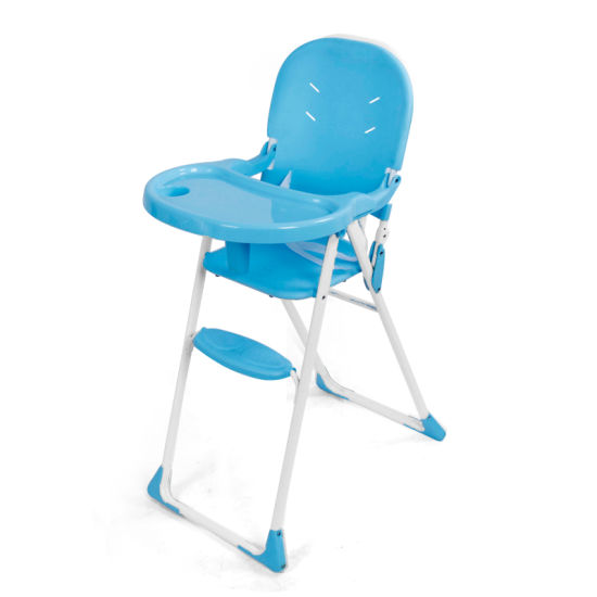 Plastic Baby Dining Chair Foldable High Chair