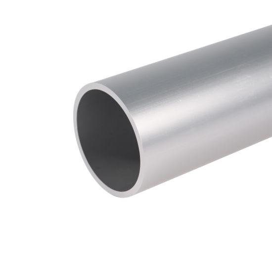 Aluminum Extrusion Seamless Pipe Aluminum Alloy Round Tube for Auto Parts Aluminum Anodised