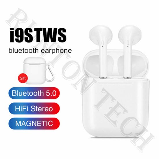 2019 New Stereo Active Noise Cancelling Wireless Headphones I9s Tws Bluetooth Headset