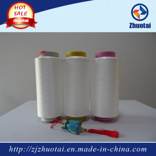 100% Polyester 4075/48 Air Covered Yarn for Swimwear and Stocking pictures & photos