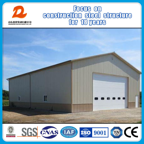Prefabricated Steel Structure Construction Warehouse