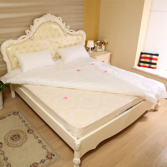 Cheap Flat Bed Sheets, Hot Sale Hotel Set, Disposable Hotel Bed Linen pictures & photos