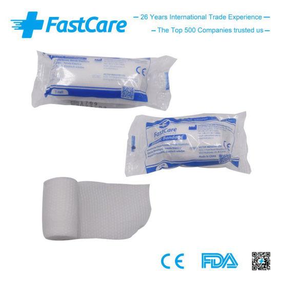 Elastic Conforming Gauze Bandage with Ce FDA Certificates