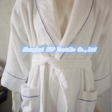 Shanghai DPF Textile Waffle Terry Towel/ Velour /Hotel Bathrobe