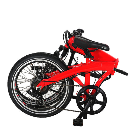 Folding E Bike with 36V14A Sine Wave with Hall Sensor pictures & photos