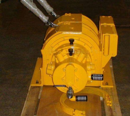 15t/150kn Mooring Winch for Ship, Marine Platforms, Pneumatic Winch for Underwater Equipments Pulling and Lifting