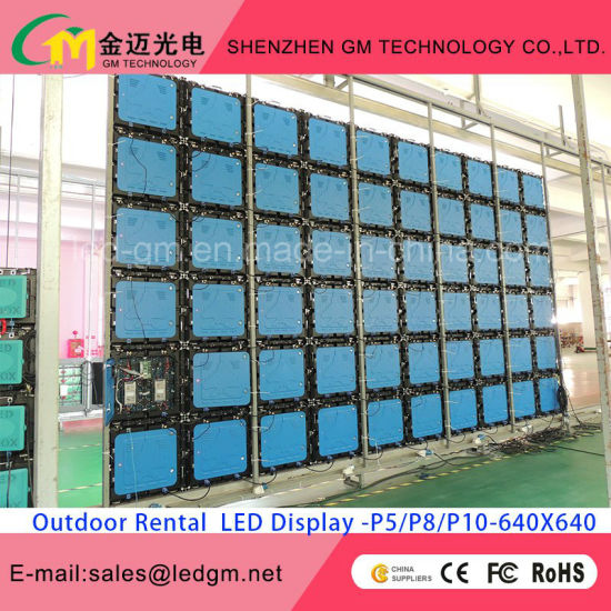 High Resolution P8 Waterproof Rental LED Display Screen pictures & photos