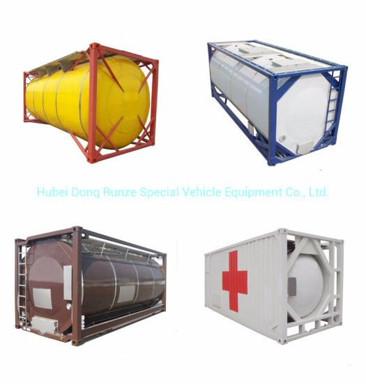 China Tank Container Imo1, Imo 5 ISO Tank for Acid Fuel Gas