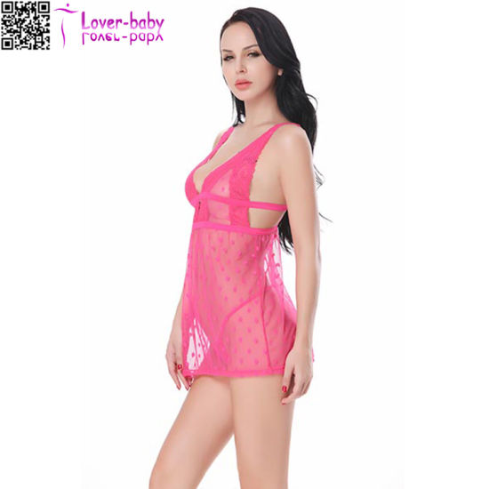 2017 New Design Underwear Hot Sexy Adult Girl Babydoll L28045-5 pictures & photos