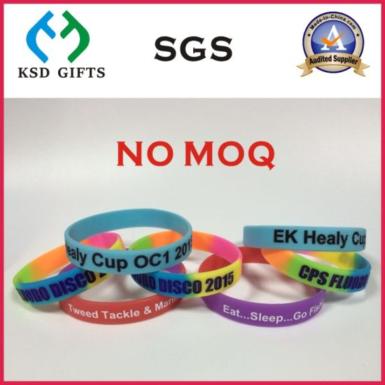 China Wholesale Cheap RFID Silicon/Silicone Rubber Band Factory (KSD-834)