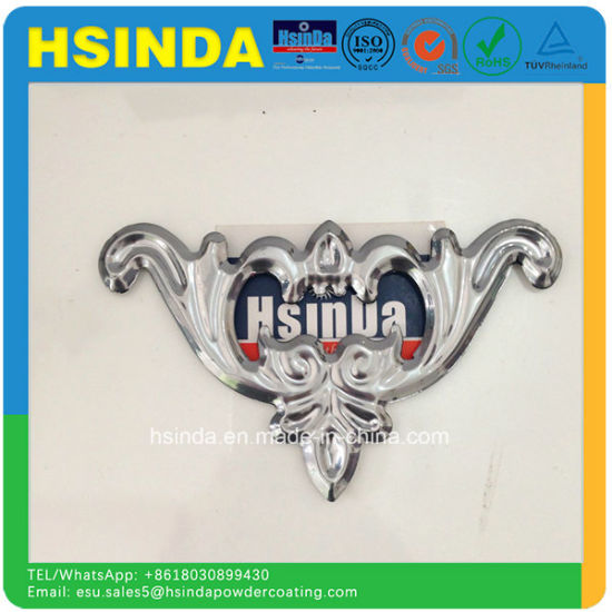 Imitated Chrome Silver Mirror Effect Powder Paint Clear Powder Coating pictures & photos