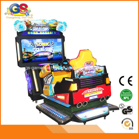 4D Arcade Simulator Outrun Sonic Car Racing Game Machine pictures & photos