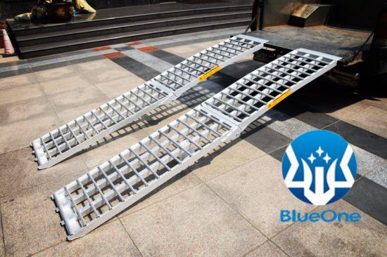 Aluminum Atv Ramps >> Aluminum Portable Folding Dual Loading Ramps China