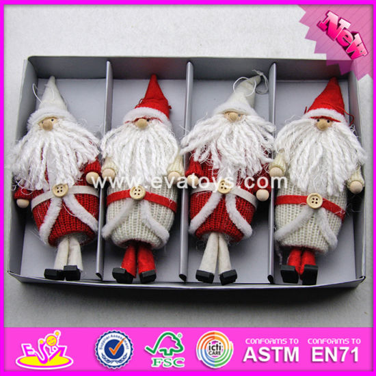 2017 New Products Kids Christmas Wearing Warming Wooden Doll Craft Supplies W02A249 pictures & photos