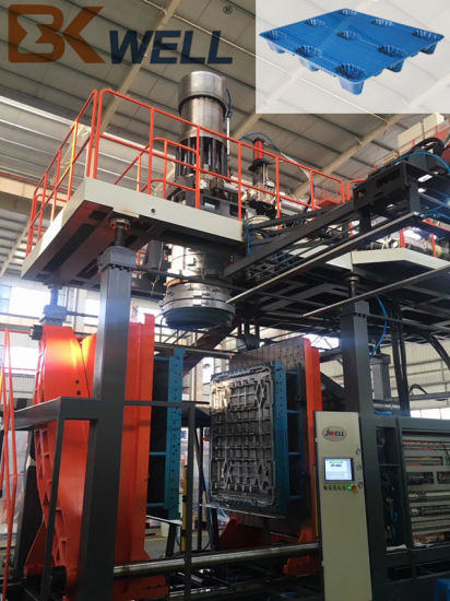 Bekwell HDPE Pallet Making Blowing Blow Molding Machine for Transportation and Storage