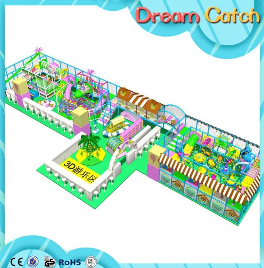 Mich New Design Children Amusement Soft Indoor Playground pictures & photos