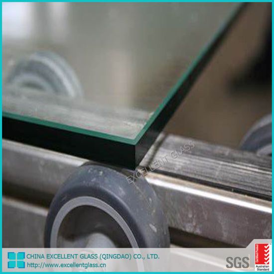 Top Quality Customized Cut Sizes Building Door Fire Resistant Tempered Glass
