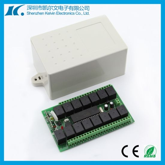 15 Channel Learning Code Remote Controller for Garage Door with Plastic Case pictures & photos