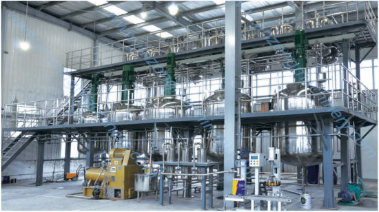 Turnkey Project Complete Paint Production Line