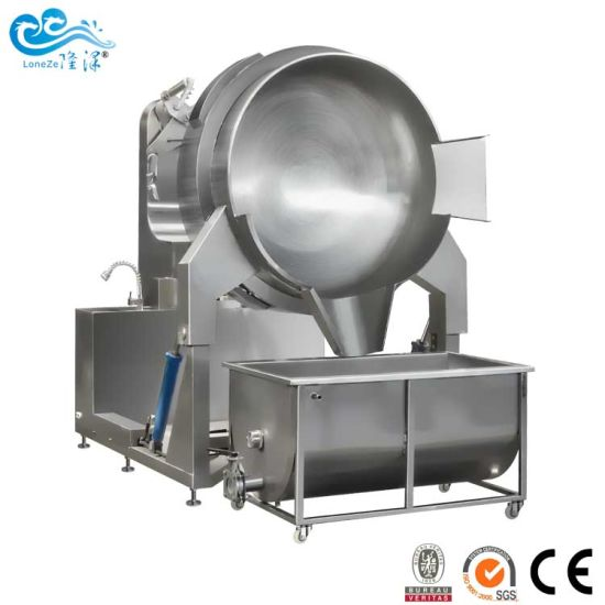 Fully Automatic Food Machinery Electric Heating Type Cooking Mixer Kettle for Strawberry Jam