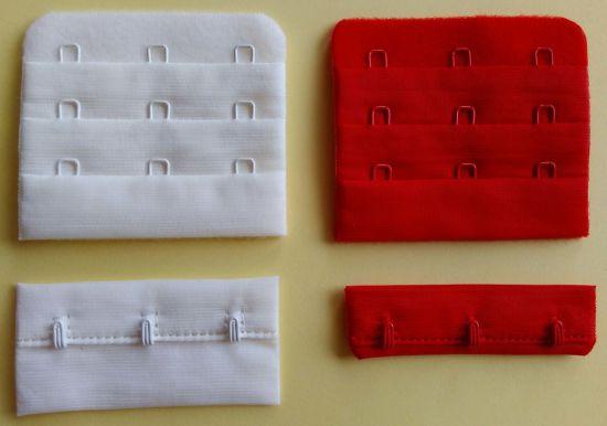 "Nylon Hook and Eye Tape - 3/4"" 3X3 Hidden Bra Accessories"