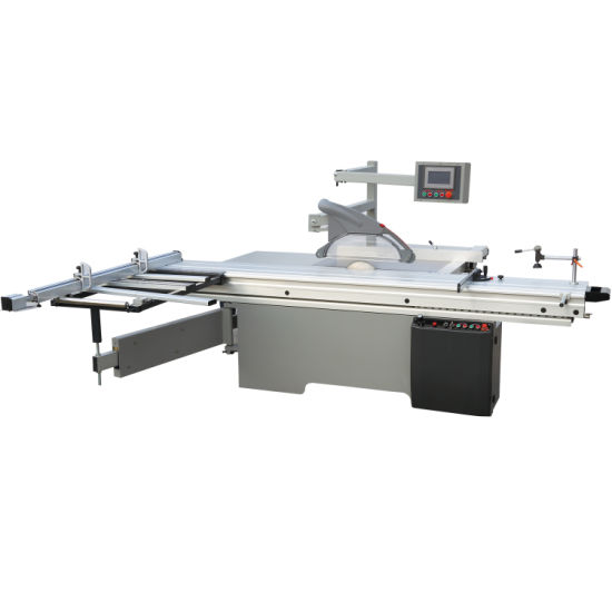 Mj45X Precision Sliding Table 45 Degree Wood Cutting Panel Saw