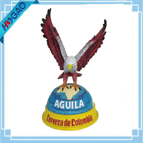 Surveyor American Bald Eagle On Branch Figurine Statue Resin Home Decor