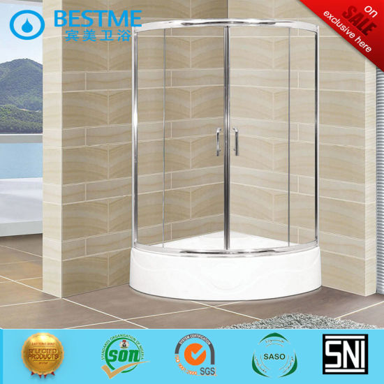 Foshan Sanitary Ware Aluminum Shower Enclosured Glass with Acrylic Tray for Project (BL-Z3515) pictures & photos
