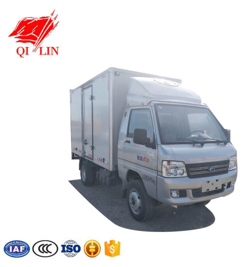 Foton Chassis Left or Right Hand Drive Caravans Truck