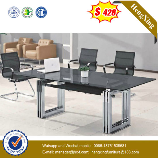 Small House Customize Glass Meeting Conference Table