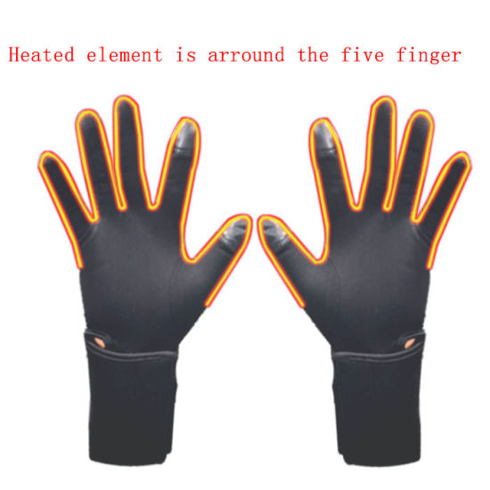 Rechargeable Battery Heated Ski Sports Gloves for Winter