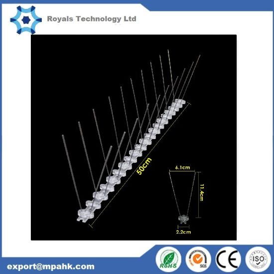 50cm Anti Bird Spikes Pigeon Control Kit Keep Bird From Scare Deter Seagull Baryer PP 304s Wire 10yr Life Us/EU/Au Sold