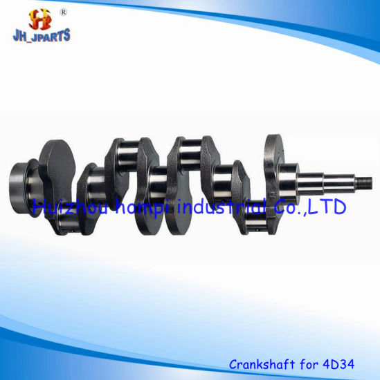 China Auto Parts Crankshaft for Mitsubishi 4D34 4D30/4D31/4D32/4D33