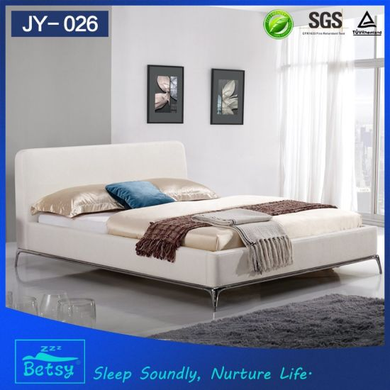 Modern Design Bed Room Furniture Bedroom Set Solid Wood From China