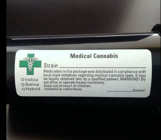 Medical Mmj 420 Rx Labels Factory Customer Design High Quality Herb Label pictures & photos
