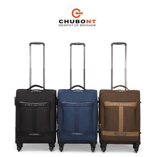 2017 Chubont High Quality Fashion Soft Suitcase pictures & photos