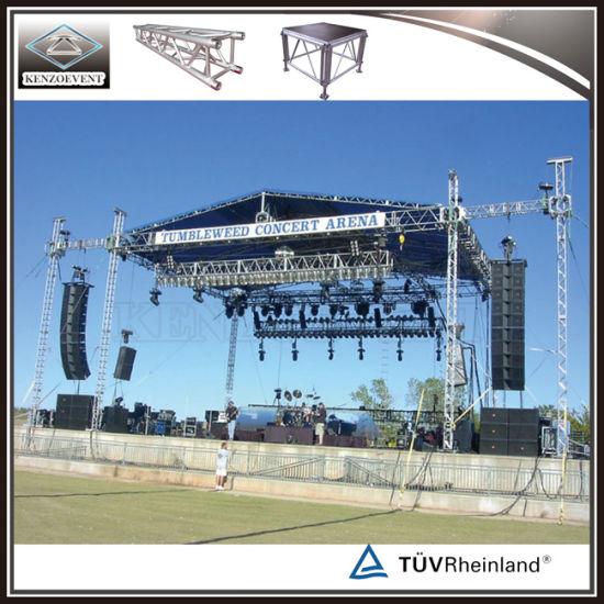 Lighting Truss Portable Aluminum Stage Truss Roof System