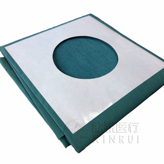 Disposable Sterile Universal Surgical Drape with Aperture Hole