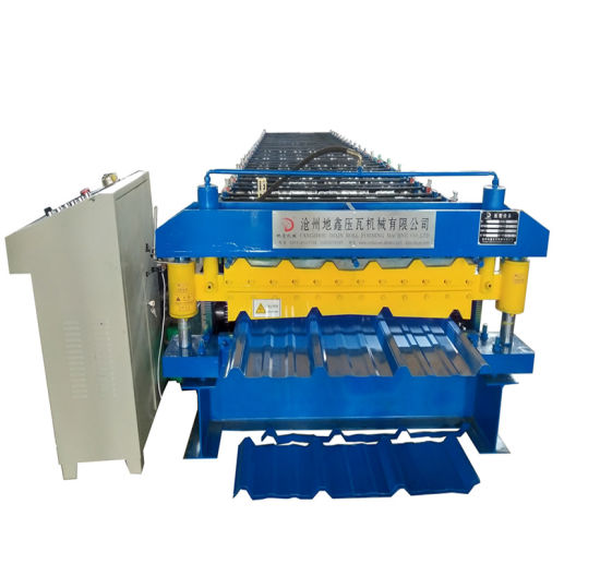 Roof Use Double Layer Corrugated and Trapezoidal New Condition Used Roofing Metal Roof Panel Roll Forming Machine