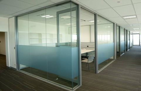 Floor to Ceiling Clear Glass Office Wall Partitions pictures & photos